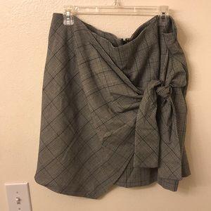 Plaid forever 21 skirt